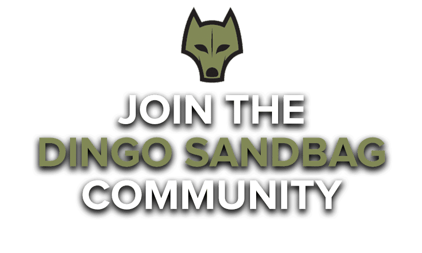 Dingo Sandbag Training Community