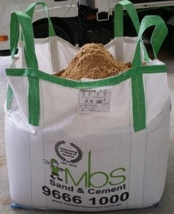 1 Tonne Sand and Cement Bag